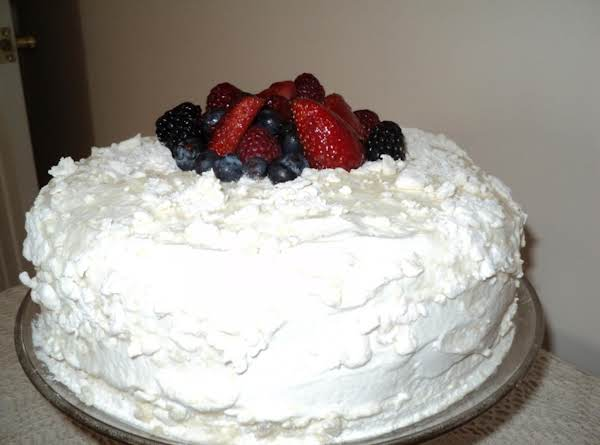 Lemon Dream Crumb Cake With Fresh Fruit