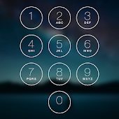 Keypad Lock Screen Pixel Theme
