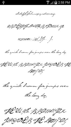 Fonts for FlipFont Love Fonts 4.0.4 screenshots 4