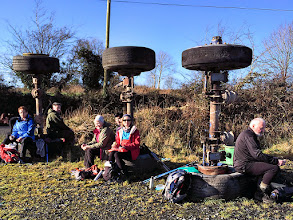 Photo: Walking the Beara Breifne Way on the weekend of January 17th and 18th, 2015.  8 of 9