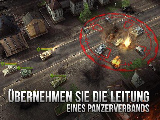 Armor Age: Tank Wars - Panzer & Taktik APK MOD screenshots 2