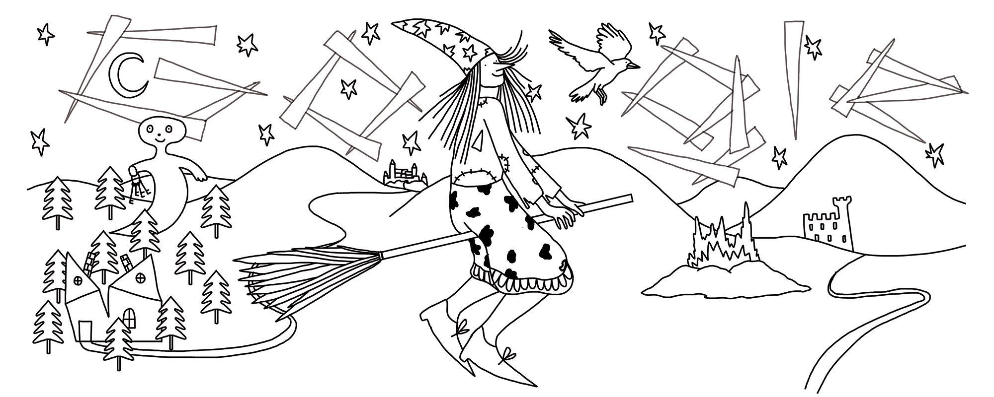 Preussler Doodle –early draft
