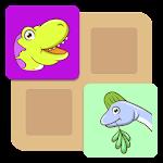 Kids Dinosaur Memo Match Game