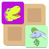 Kids Dinosaur Memo Match Game