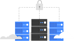 Keep sensitive data private in a hybrid environment logo