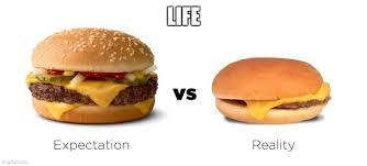 expectation v reality