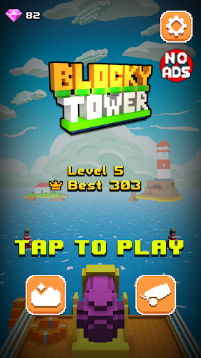 Blocky Tower - Knock Box Balls Ultimate Knock Out android2mod screenshots 4