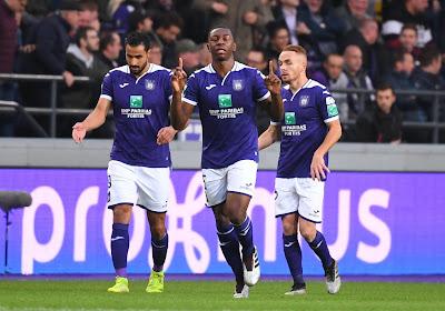 La Pro League modifie son calendrier pour un match d'Anderlecht