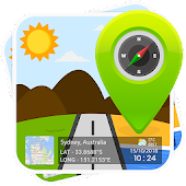 GPS Map Stamp: Add a Geotag on Gallery Photos Icon