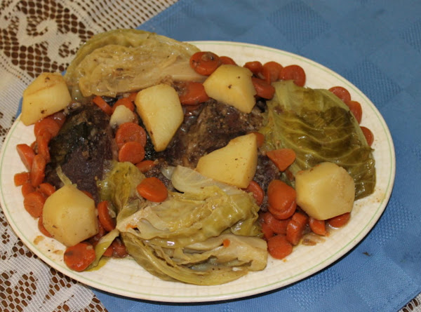 Pot Roast With Fresh Vegetables Recipe