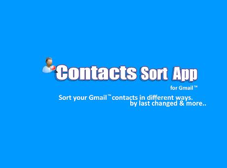 Contacts Sort App
