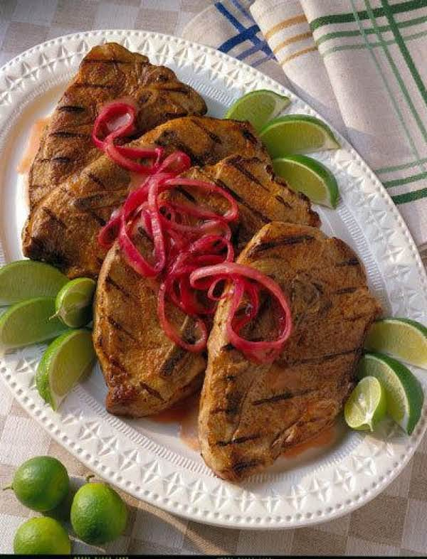 Grilled Yucatan Pork Steaks Recipe