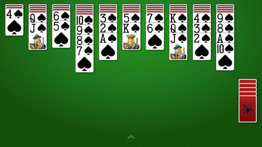 Spider Solitaire  gameplay | by HackJr.Pw 10