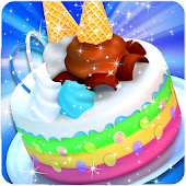 Ice Cream Cake Master Chef ?: Kids Cooking Game Android APK Download Free By Crazy Game House