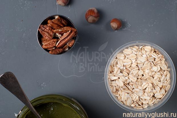 овсяные батончики рецепт | Блог Naturally в глуши