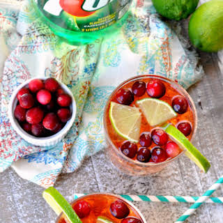Cranberry Lime Spritzer.