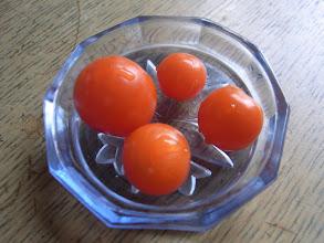 Photo: ミニトマト初収穫
