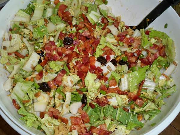 Asian Cabbage Salad-annette's