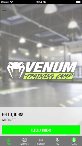 Venum screenshot 1