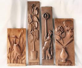 Photo: Cala: 75 x 13 cm. || Talla en madera. Woodcarving.   Puedes conocer más de este artista en el blog: http://tallaenmadera-woodcarving-esculturas.blogspot.com/