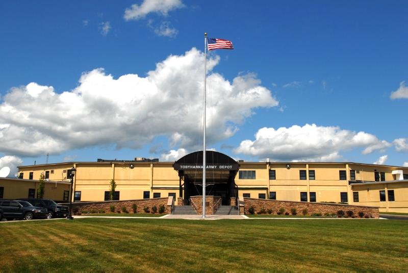 Tobyhanna Army Depot Main Entrance