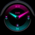 MYSTIC Laser Clock Widget Icon