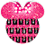Pink Minnie Glitter keyboard Theme file APK Free for PC, smart TV Download