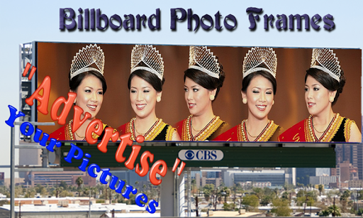 Billboard Frame Photo