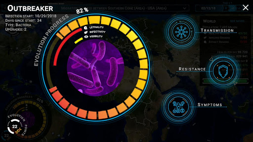 Outbreak - Infect The World hack tool