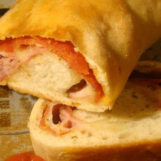 Three Meat Stromboli