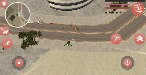 Download Black Superhero Iron Stickman Rope Hero Mafia For PC Windows and Mac apk screenshot 4