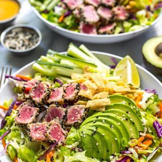 Sashimi Tuna Salad.