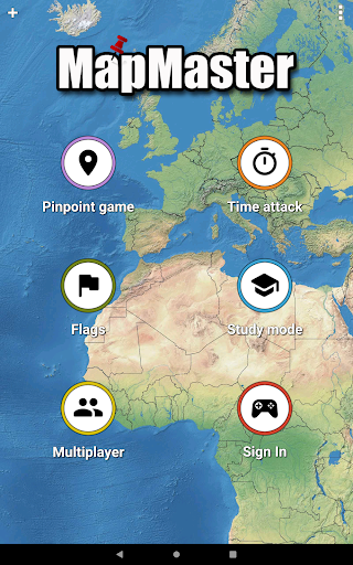 MapMaster Free - Geography game 4.8.3 screenshots 9