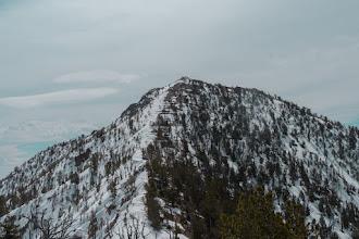 Photo: Peak 10,112 from the saddle