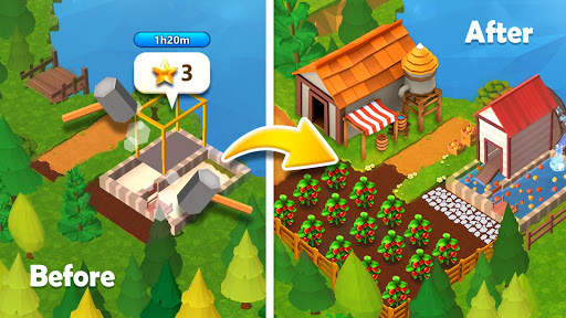 Farmship: Tripeaks Solitaire apktram screenshots 6