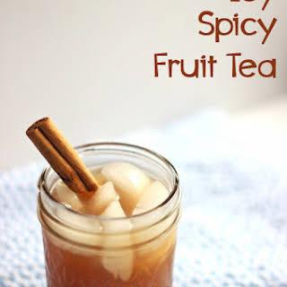 Icy Spicy Fruit Tea.