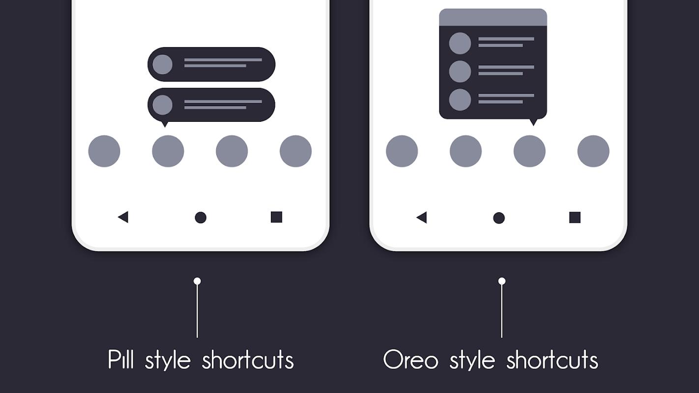 Flick Launcher screenshots