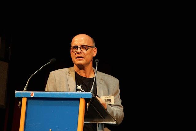 Intervención de Ramón Giménez, presentando el plan estratégico de la Asociación.
