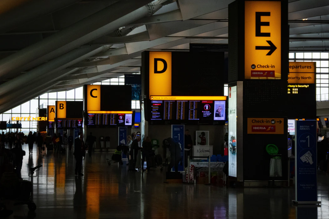 largest airports in England