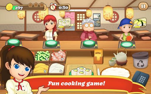 Sushi Fever - Cooking Game 1.13.1 screenshots 1