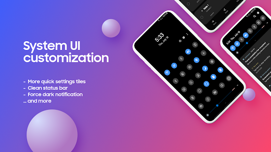 Complete One UI Substratum System Mods v 2 4 7 APK Patched