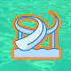 Aquapark Slide Race: fun 3d water runner Apk