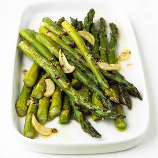 Garlic-Roasted Asparagus.