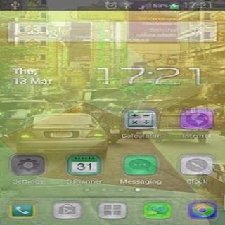 HD Transparent Phone Screen