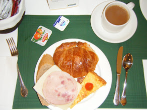 Photo: Breakfast at Maisonnave (Monday)