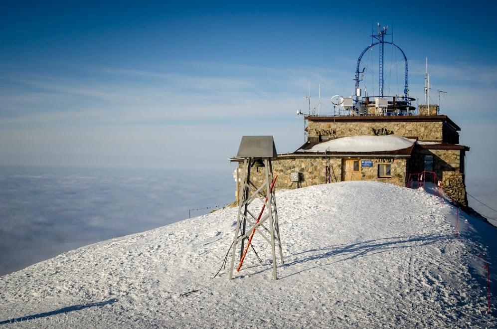 Метеостанция в горах, Польша