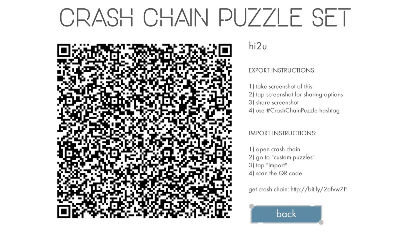Crash Chain- screenshot