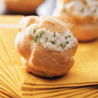 Holiday Appetizer Puffs.