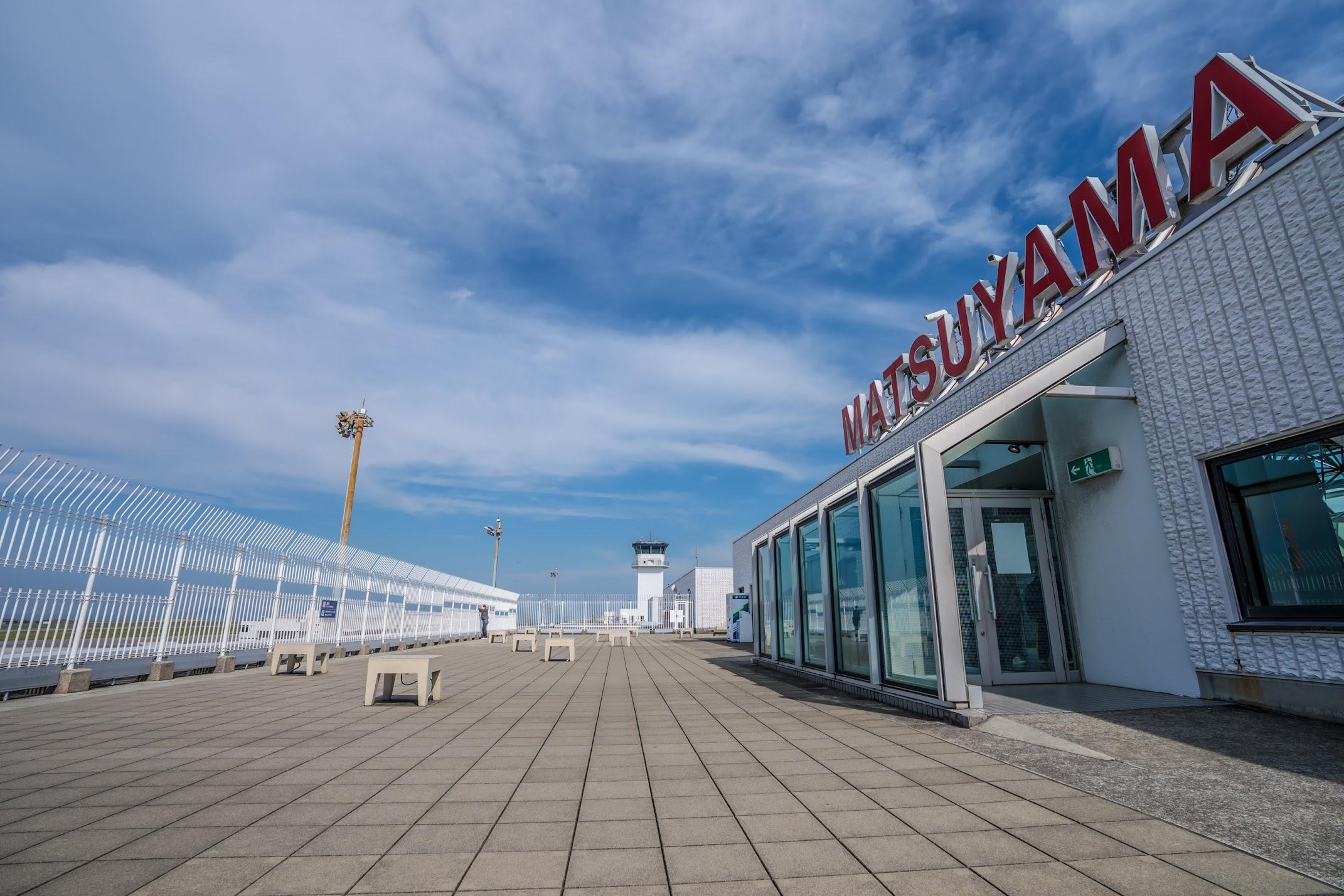 Matsuyama Airport Observation deck2