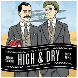 Logo of Bishop Cider High & Dry
